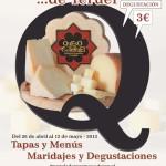 Cartel RUTA del Queso de Teruel 2013