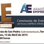 ANUNCIO PREMIO EMPRESA 2015 Teruel color