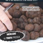 Cartel mercado Trufa Rubielos