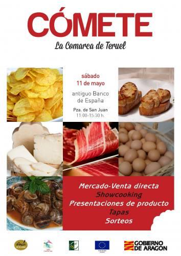 COMETE LA COMARCA DE TERUEL cartel