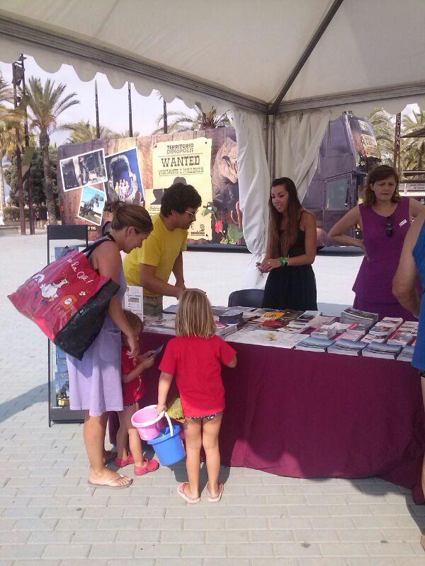 Exitosa promoción de la provincia de Teruel en Salou