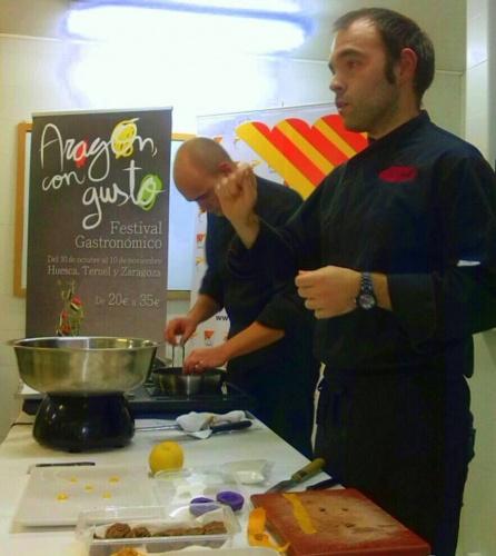 Broche de aromas y sabores de Aragón con Gusto en Teruel