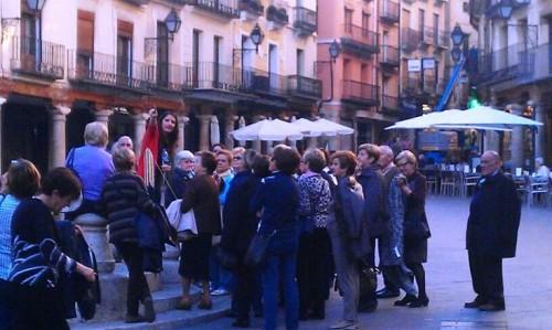Más de 30 riojanos, encantados con su visita a Teruel