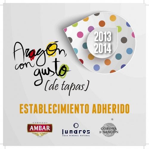 Aragón con Gusto…de tapas! Del 29 de noviembre al 9 de diciembre