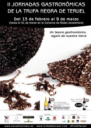 II Jornadas de la Trufa Negra de Teruel… ¡Comienza la cuenta atrás!