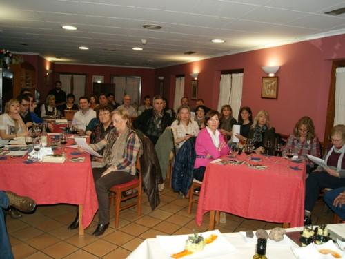 Éxito rotundo del taller para aprender a cocinar con trufa en Alcañiz