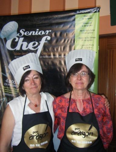 Las manitas en salsa de Las Pichanas, ganadoras de SeniorChef Rubielos de Mora