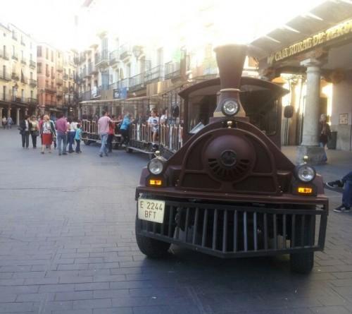 ¿Quieres publicitarte en el Tren Turístico de Teruel?