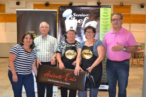 Los «PIES DE CERDO EN SALSA» de Carmen de Vacarizas ganan SeniorChef Manzanera