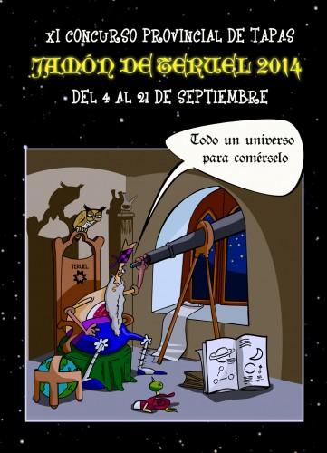 """Concurso de Tapas Jamón de Teruel. """"TODO UN UNIVERSO PARA COMÉRSELO…"""""""