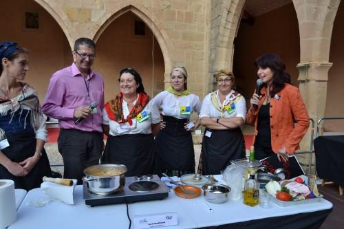 El castillo de Mora se impregna de los sabores tradicionales de la comarca con #SeniorChef