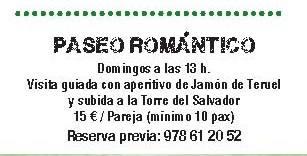 Paseo romántico por Teruel