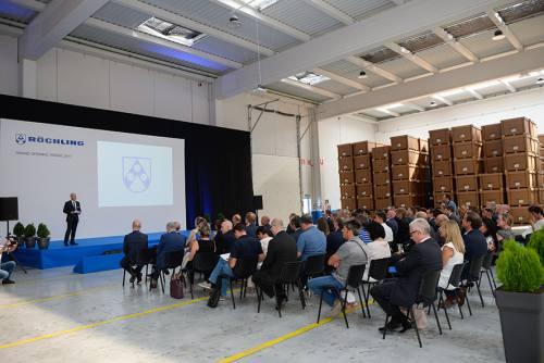 La multinacional Röchling inauguró en Teruel su nueva planta para España