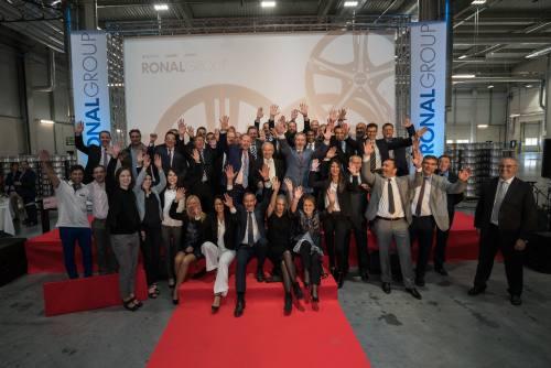 Ronal Group, empresa europea líder en la fabricación de llantas, inauguró su nueva planta en Teruel