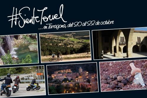 La provincia de Teruel se promociona en Tarragona  con Pablo Monguió y la Vía Verde como protagonistas