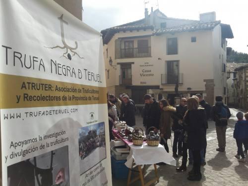 Mercado trufa Rubielos 2017