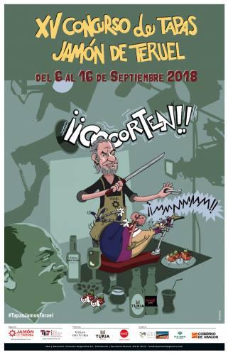 El Concurso Provincial de Tapas Jamón de Teruel, inspirado en la figura de Luis Buñuel.