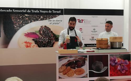 El Restaurante El Mercao de Teruel, acoge un taller-maridaje con Trufa Negra de Teruel