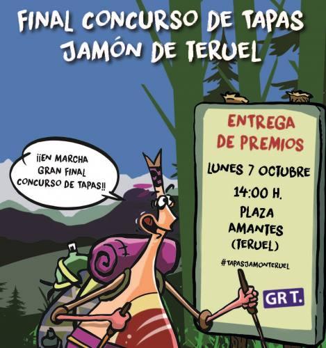 La Barrica, Rte Método y Pura Cepa ganadores del Concurso de Tapas Jamón de Teruel 2019