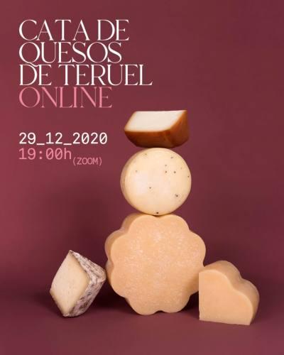 Doscientas personas participan en la Cata de Quesos de Teruel Online