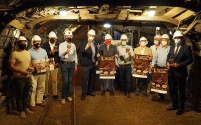 El museo minero de Escucha escenario elegido para la presentación del Concurso de Tapas Jamón de Teruel
